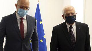 Глава кабмина Украины и глава дипломатии ЕС провели переговоры