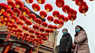 الصين ترتدي أبهى حللها استعداداً لدخول السنة القمرية الجديدة