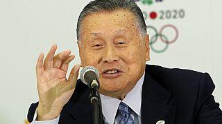 Yoshiro Mori has resigned after initially saying he wasn't going to do so