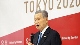 Tokyo Olimpiyatları Organizasyon Komitesi Başkanı Yoshino Mori.