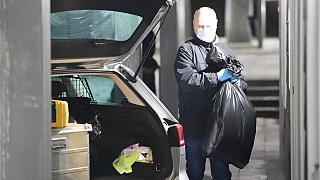 Evidence was sezied by Danish police officers in Holbaek on Thursday.