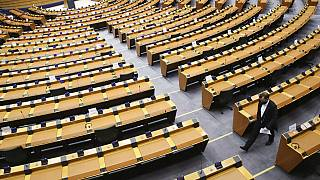 European Parliament in Brussels,