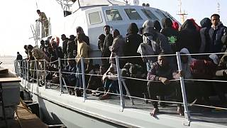240 migrants rescued off boats in Libya