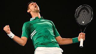 نواک جوکوویچ در مسابقات اوپن استرالیا