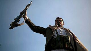یک عضو جنبش انصارالله در یمن