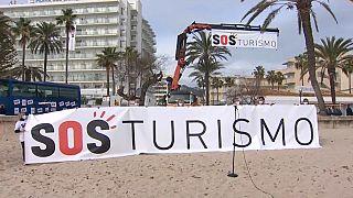 Campaña SOS Turismo en Mallorca