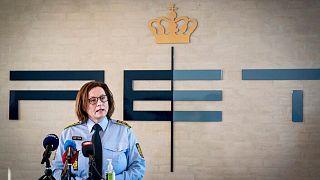 نشست خبری پلیس دانمارک