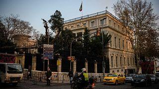 لقنصلية الإيرانية في اسطنبول، 20 ديسمبر 2016