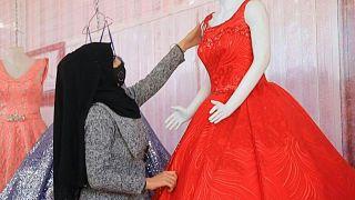 الاحتفال بالحب في مخيم الزعتري للاجئين