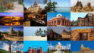 The destinations have been chosen to capture the cultural and geographical richness of India.