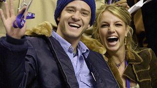 Justin Timberlake und Britney Spears 2002