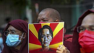 Aung San Suu Kyi has been detained after a military coup