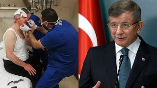 Gelecek Partisi Genel Başkanı Ahmet Davutoğlu, Gelecek Partisi Başkan Yardımcısı Selçuk Özdağ