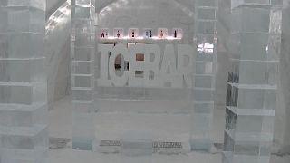 «دهکده» یخی؛ برگزاری جشنواره زمستانی در شمال ژاپن