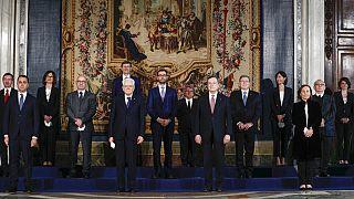 Letette az esküt Mario Draghi és új olasz kormánya