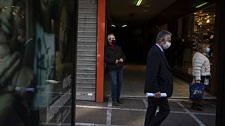 Virus Outbreak Greece