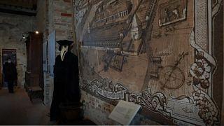 Venedik'in 600 yıl önce yaşadığı salgın dönemine ışık tutan görsel