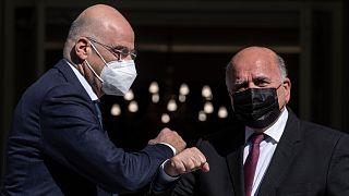 Yunanistan Dışişleri Bakanı Dendias, Irak'ta mevkidaşı ile görüştü
