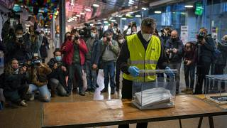 Vorbereitung im Wahlbüro