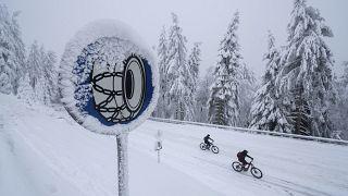Norveç, kar zinciri kullanmayan kamyon şoförünü sınır dışı etti.