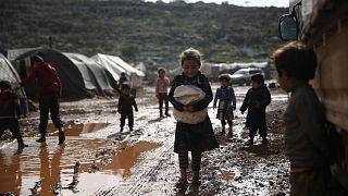مخيم للاجئين السوريين