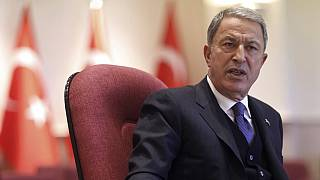 Hulusi Akar said 12 of the victims had been shot in the head. One had died a bullet wound in the shoulder