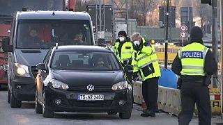 German police enforcing new border controls