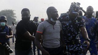Tiltakozás a rendőri brutalitás ellen