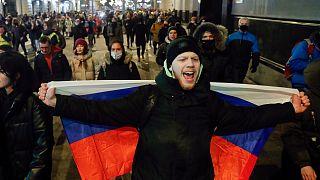 تظاهر عشرات الآلاف في أنحاء روسيا على مدى الأسابيع الماضية استجابة لدعوة زعيم المعارضة المسجون أليكسي نافالني