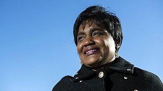 Menschenrechtsanwältin Debora Kayembe in Edinburgh