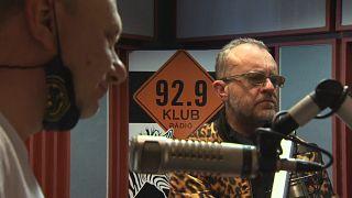 Imagen de la última emisión de Klubradio