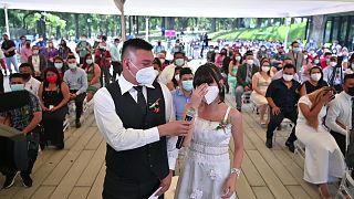 زفاف جماعي في السلفادور