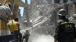 Another Apartment Building Collapses in Cairo Killing a Family of 3