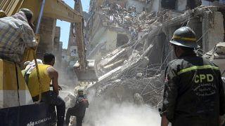 Caire : au moins trois morts dans l'effondrement d'un immeuble