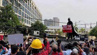 شاهد: الاحتجاجات متواصلة في ميانمار والجيش ينتشر في البلاد
