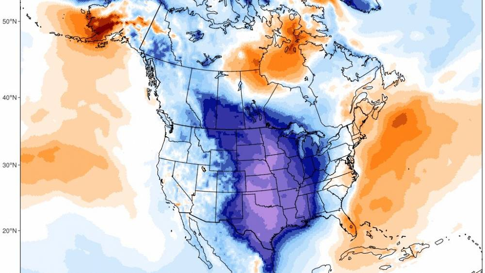Una Monstruosa Ola De Nieve Y Frío Congela Estados Unidos Euronews