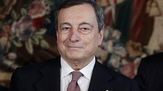 """Draghi visto como """"salvador"""" de Itália e da UE"""
