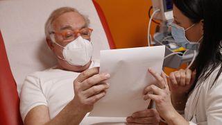 Vorbereitung auf die Corona-Impfung in einer Straßburger Klinik in der vergangenen Woche. Im nahen Département Moselle grassiert die Südafrika-Variante
