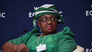 Nigeria Minister for Finance, Ngozi Okonjo-Iweala attends the World economic forum on Africa in Abuja, Nigeria, Friday, May 9, 2014.