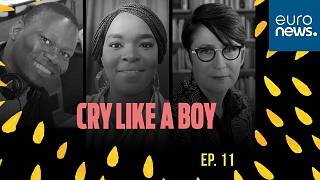 From left: Khopotso Bodibe, Mpiwa Mangwiro and Rosalind Morris, host and guests of this Cry Like a Boy episode