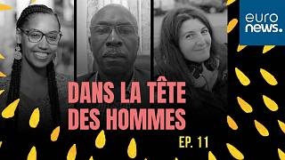 Arwa Barkallah, Jean-Emery Etoughe-Efe et Tiziri Kandi qui animent la table ronde sur la masculinité dans cet épisode