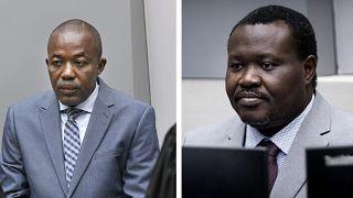 Alfred Yekatom ve Patrice-Edouard Ngaissona