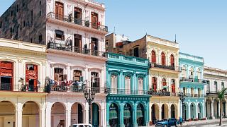Cuba is most recognisable by its colourful architecture