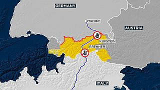 Tempi di controlli serrati ai confini tra Italia, Austria e Germania.