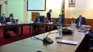 videoconferência de representantes da COMESA, EAC e SADC