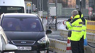 Checks at the German-Austrian border
