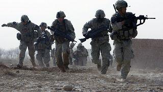 Afganistan'da görev yapan Amerikan askerleri