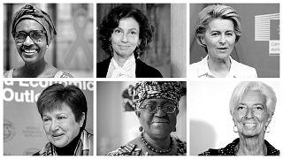 Uluslararası kurumların kadın liderleri