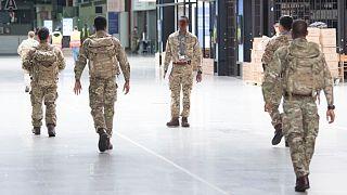أفراد من الجيش البريطاني