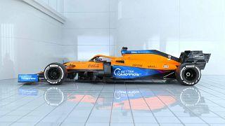 Der neue Formel-1-Bolide vom Team McLaren